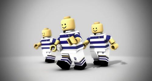 Custom minifig SASS Rugby Boy custom minifigs