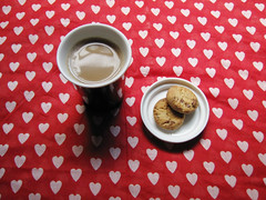 i heart (266aline) Tags: coffee breakfast cookie dearchaos