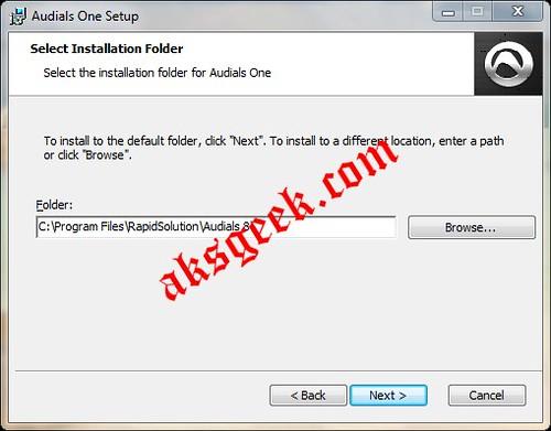 Audial One Setup 2 installer