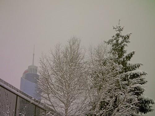 Snowy Sarajevo
