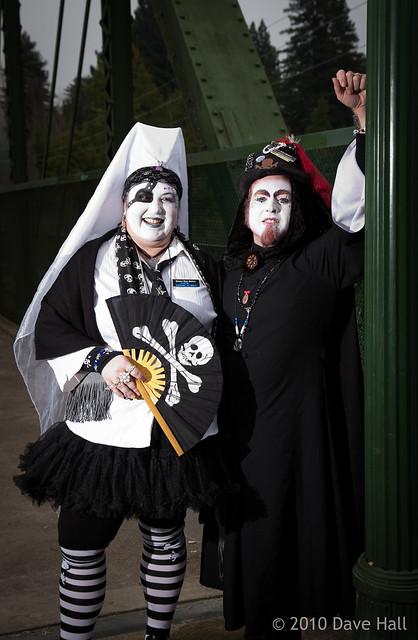 Sister Dawna Matrix and Novice Sister Sorenda 'da Booty