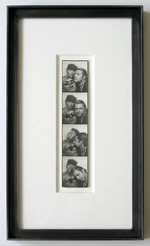 Authenticated Andy Warhol Unique Photobooth Strip