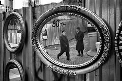 Turkey - Istanbul (luca marella) Tags: street travel people bw white black reflection film mirror blackwhite voigtlander social pb bn e bianco nero biancoenero reportage analogic turchia marellaluca