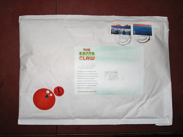 Santa Claw Envelope