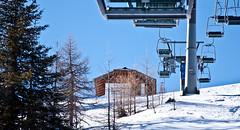 Skigebiet im März 2011