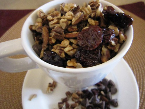 A Cup of Cherries, Chocolate Chips and Pecans