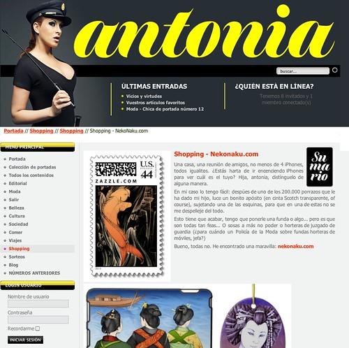Antonia Magazine - Neko Naku