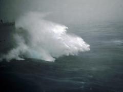 Ecume (Cokebuster) Tags: ocean storm wave splash tempest vagues warship tempte ocan roughsea bayofbiscay a609 fsmeuse