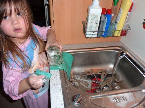 Abwaschhilfe