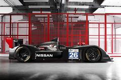 Lucas Ordonez' 2011 Nissan LMP2 car