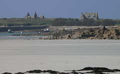 Santec-Dossen - Ile de Sieck - 3 mars 2011 - sur la plage