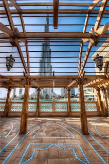 Stalking The Burj Khalifa - (HDR Dubai, UAE)