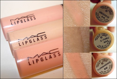 MAC Lipgloss Swatch
