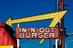 In N Out Burger (TooMuchFire) Tags: signs neon retro hamburgers burgers innoutburger innout baldwinpark neonsigns midcentury lightroom oldsigns vintagesigns fastfoodrestaurants vintageneonsigns vintagesignage canon30d atomicage fastfoodchains burgerjoints retrosignage oldneonsigns toomuchfire 13850francisquitobaldwinparkca