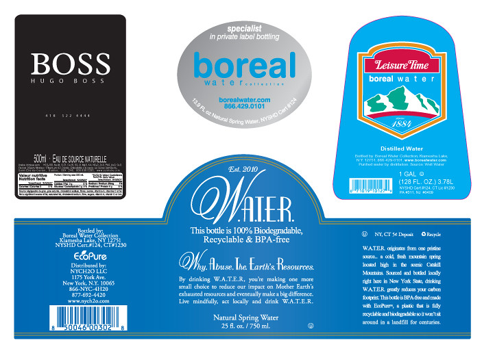 Boreal Water Private Label Sample