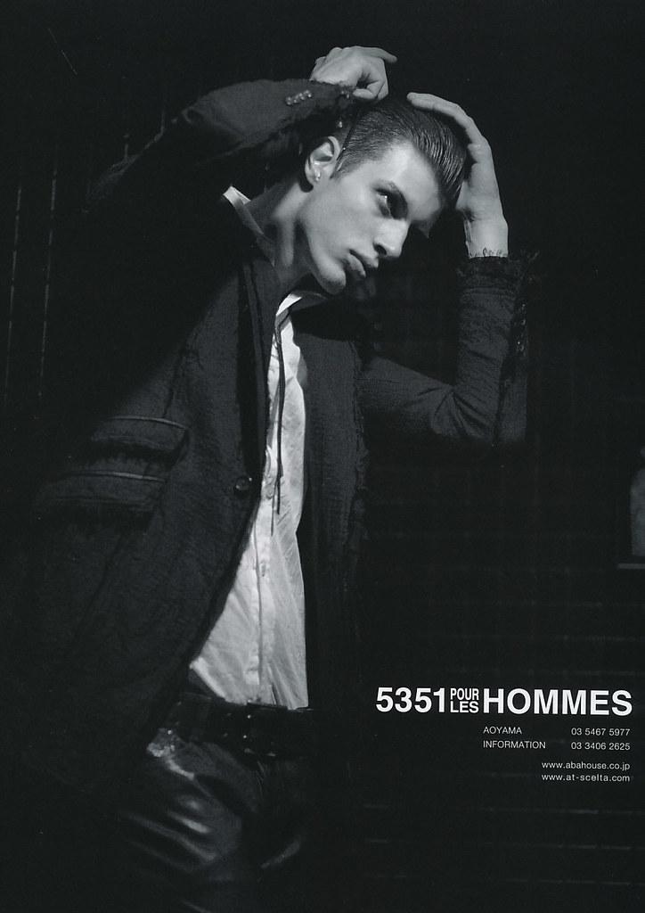 Petr Rehka5039_5351 POUR LES HOMMES AW2010 Campaign(JOKER2010_10)