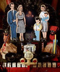 "Laurie Zuckerman ""American Vodou Nuclear Family"" (Laurie Beth Zuckerman Home Altar Installations) Tags: copyright home by is photo or email altar installation access to laurie purchase restricted permission 2012 zuckerman lauriebethzuckermangmailcom"