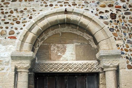 South door arch