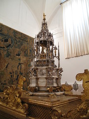 Silver monstrance / Custodia de plata