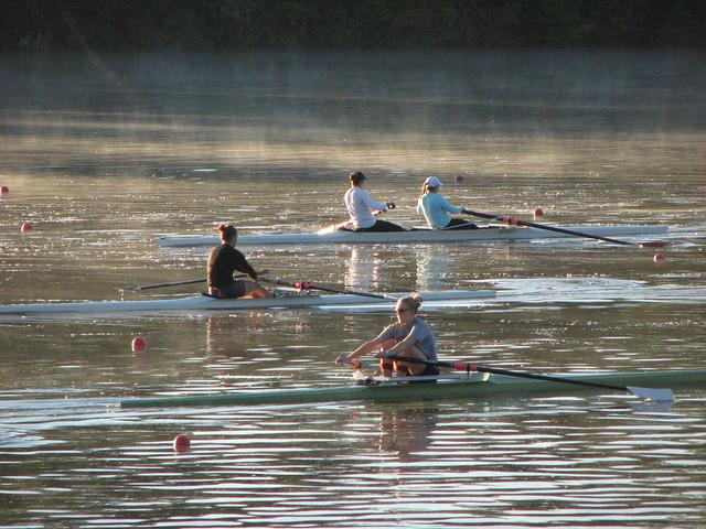 Women rowers