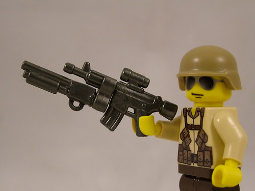 Custom minifig Masterkey Shotgun Mod on ARC Prototype