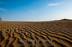 Sharjah Desert (M.Omair) Tags: city pakistan sky sun sunlight art beach nature water beautiful yellow clouds landscape amazing sand nikon desert artistic uae international scape karachi omair sharjah 18105 d300 virgomair imomair wwwimomaircom