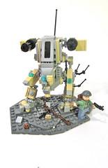 Lego Assault Mechs (vdubguy67') Tags: castle plane robot fight chopper war gun tank lego space attack machine battle assault helicopter pirate weapon rocket mecha mech moc afol