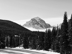 Mount Temple (RD Crisp Photography) Tags: canada ski mountains skiing peak skiresort alberta lakelouise banffnationalpark canadianrockies mttemple