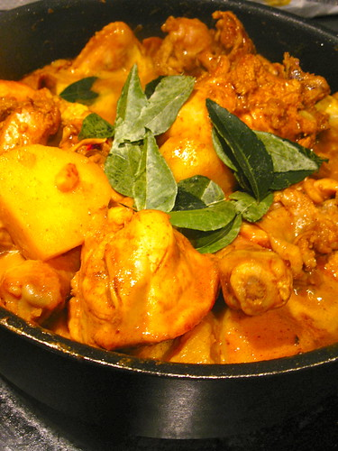 Singlish Swenglish Dry Curry Chicken
