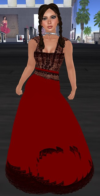 Monday Mania Snowpaws Wine Penelope Dress March 7 2011