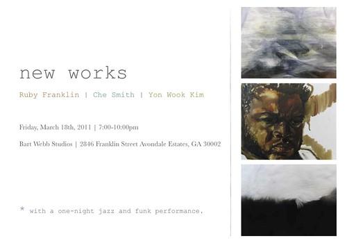 Ruby Franklin, Che Smith, Yon Wook Kim at Bart Webb Studios