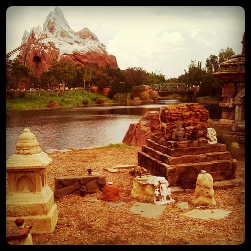Everest Coaster at Disney World Animal Kingdom in Orlando, Fl. by ObieVIP