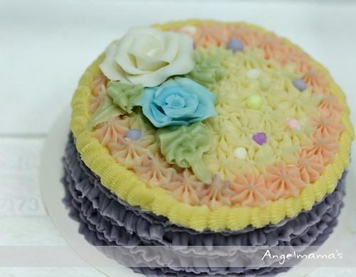 天使媽媽蛋糕皂教學台中 0022