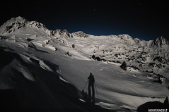 The brightest moon (MOUNTAINCULT) Tags: blue winter shadow moon mountain snow ski cold nature silhouette night trekking stars landscape europa europe bright atmosphere natura paisaje fullmoon moonlit neige geology skier andorra pyrenees muntanya neu skitouring pirineus esqui valle pirineu hivern alpineskiing esports backcountryskiing muntanyisme esport randonnee summits apsis encamp perigee risingmoon pessons skialpin esquidemuntanya perigeo principatdandorra esquidemontaa mountainphotography skimountaneering supermoon mountaincult skialpi esquialpinisme mountainphotographer jordisoljoval