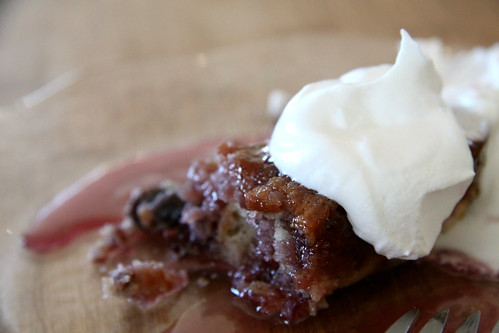 Sticky Cherry Pudding Cake