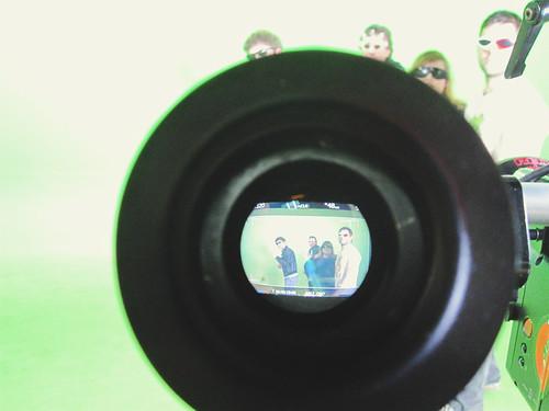 Really Loud Hamburgers Video Shoot