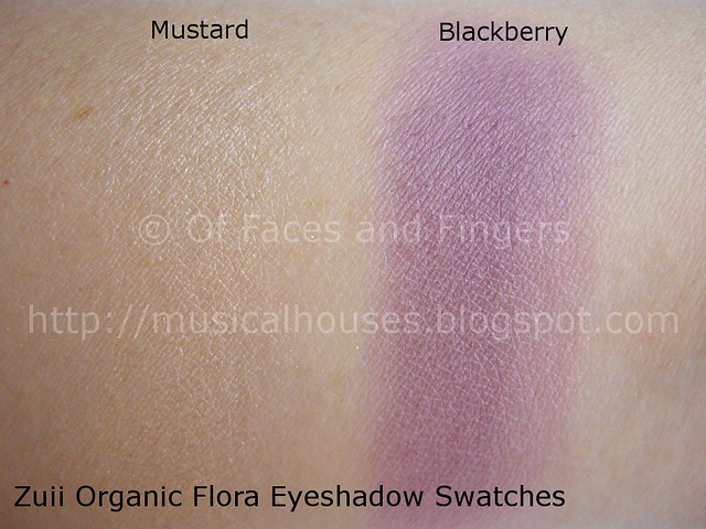 zuii organic eyeshadow swatch