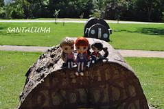 No parque com Iani,Aisha e Lissha!!