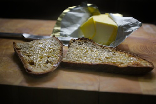 i could live off toast & butter