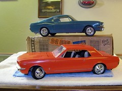 1966 qnd 1967 Ford Mustang Large Scale Promo Model Cars (coconv) Tags: auto door old 2 classic cars ford hardtop scale car electric vintage for promo model automobile sale antique large 1966 66 plastic 124 sample 1967 motor kit mustang collectible gt collectors promotional coupe 67 dealership johan mpc 125 amt fastback smp hubley revell qnd banthrico