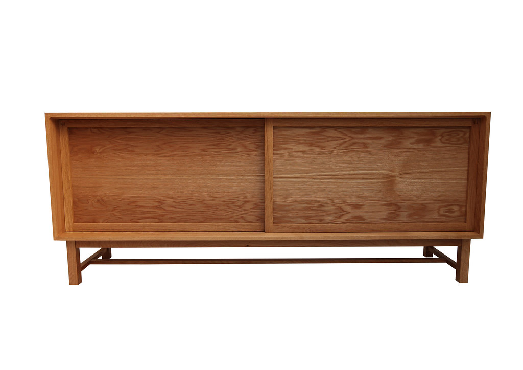 Method Furniture - Flux Credenza (European oak feat. bookmatched oak veneer panels)