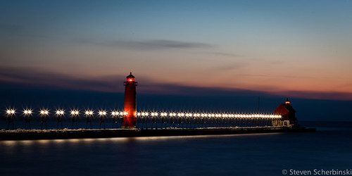 March Sunset in Grand Haven