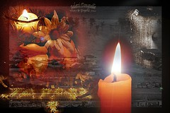 For the victims of Japan let us unite in a moment of prayer! (Saletti Donatella) Tags: flowers woman art texture japan photoshop graphic donne emotions candela giappone grafica volti elaborazione mywinners goldstaraward