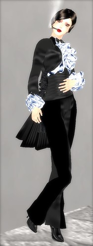 Lady Tuxedo by VINDI VINDALOO Creations