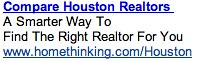 PPC Ad #2 - Realtor Search