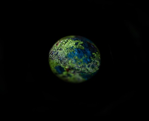 Tilt shift earth by esquimo_2ooo