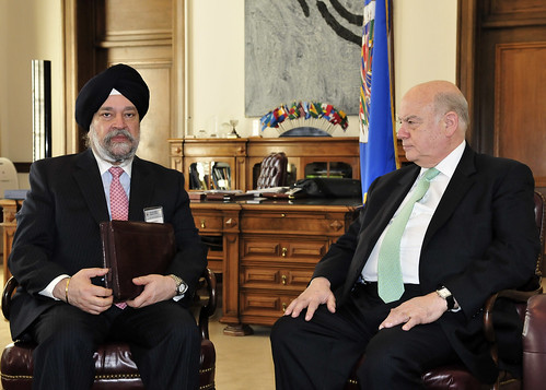 OAS Secretary General Meets with UN Counter-Terrorism Committee Chair