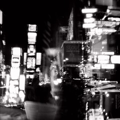 Times Square (A. Vandalay) Tags: delete10 delete9 delete5 delete2 holga cityscape nightshot delete6 delete7 delete8 delete3 delete delete4 timessquare save1