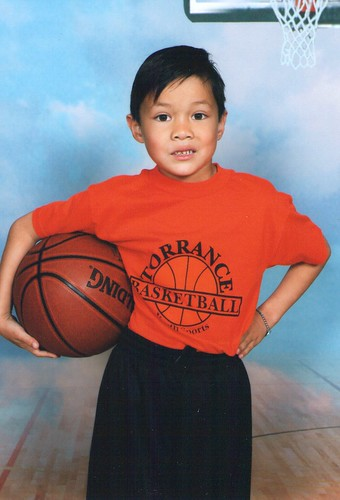 Basketball protrait