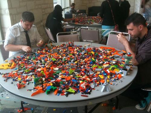 Legos at SXSW